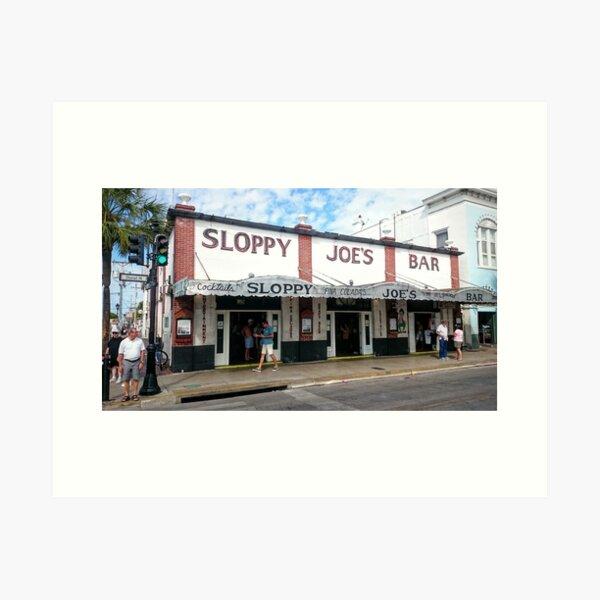 Sloppy Joe's Key West Art Print