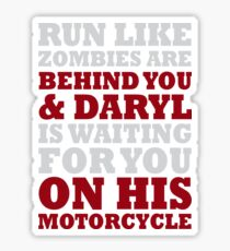 Daryl Motorcycle Sticker