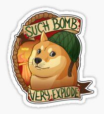 Very Bomb-Much Explode Sticker