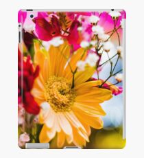 Flowers - Bold colors iPad Case/Skin