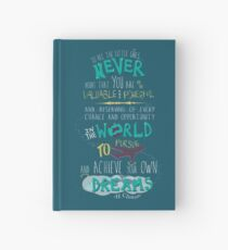 Hillary Clinton Quote - Version 2 Hardcover Journal