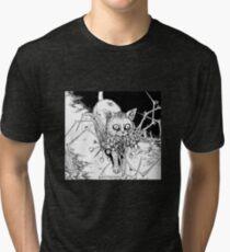 Soichi's Beloved Pet - Junji Ito Tri-blend T-Shirt