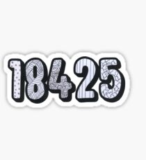 18425 - Doodle Sticker