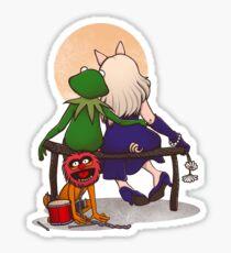 Puppet's love Sticker