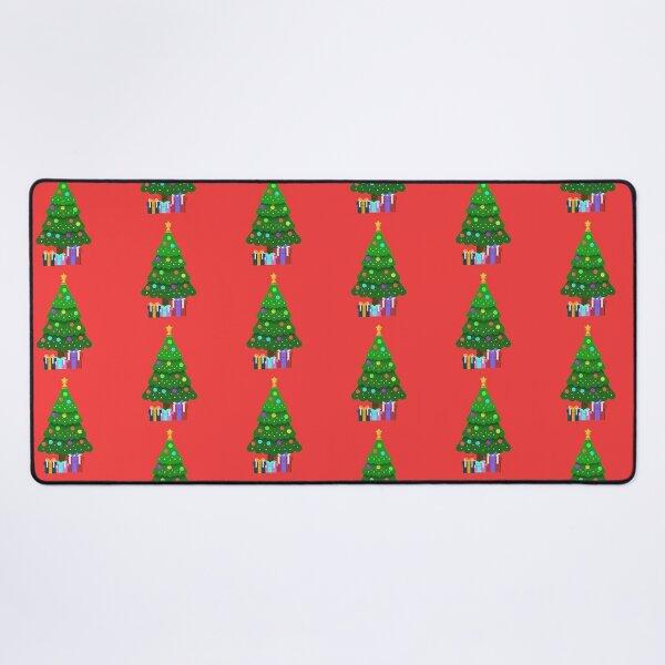 Christmas Tree - Christmas Decoration - Christmas Pattern Desk Mat
