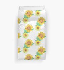 Sunflower Spray Duvet Cover