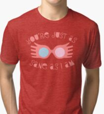 Just as Sane Tri-blend T-Shirt