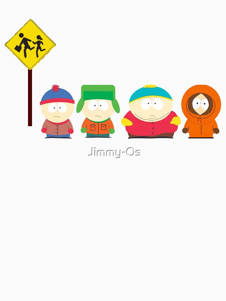 South Park Bus stop   Unisex T-Shirt