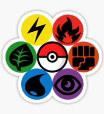 Pokemon Sacred Geometry Sticker