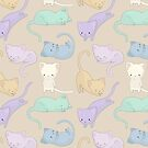 A Purrfect Cat Pattern by Zombride