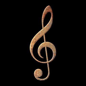 Rusty G Key Music Symbol by plidner