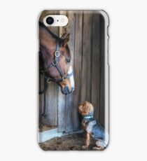 Two Friends- 2015 Dover Saddlery contest winer iPhone Case/Skin