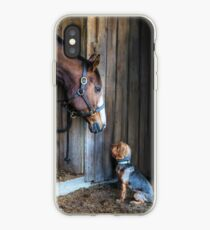 Two Friends- 2015 Dover Saddlery contest winer iPhone Case