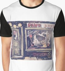 Pawn Shop Store Front Graphic T-Shirt
