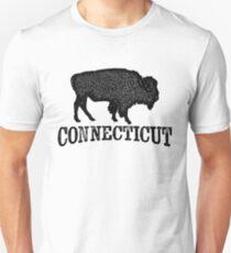 Connecticut T-shirt - Bison Buffalo T-Shirt