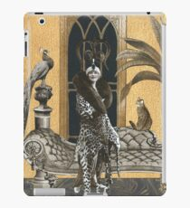 Mme. Ocelot & Babou iPad Case/Skin