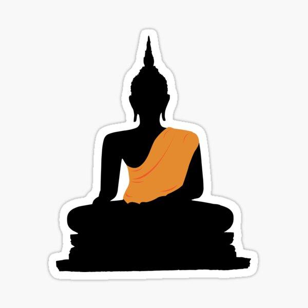 Wat Mahathat Buddha Sticker