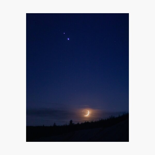 Great Conjunction of Jupiter and Saturn Photographic Print