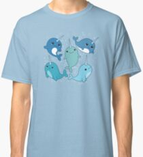 Narwhal Pattern Classic T-Shirt