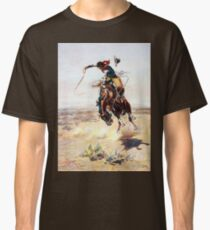 Charles Marion Russell A Bad Hoss Classic T-Shirt