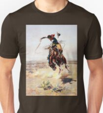 Charles Marion Russell A Bad Hoss Unisex T-Shirt