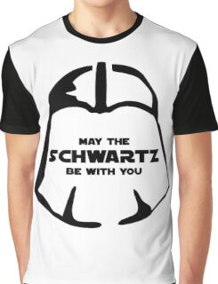 Schwartz Be With you Graphic T-Shirt