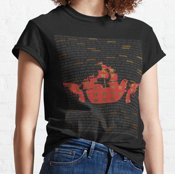 Hamilton - Guns And Ships Classic T-Shirt