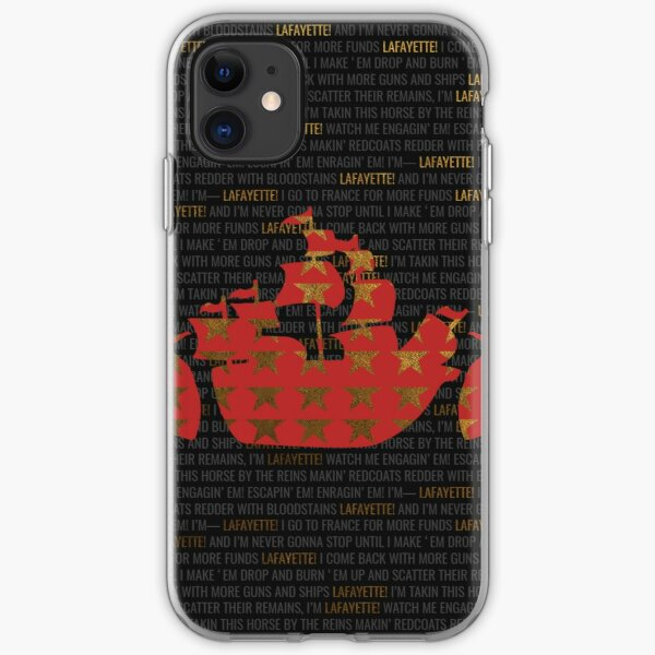 Hamilton - Guns And Ships iPhone Soft Case