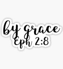 Ephesians 2:8 Sticker