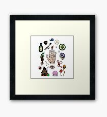 Witchcraft 2 Framed Print