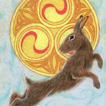 Sun Dancer Rabbit by skieborne