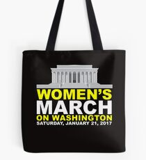 Women's March on Washington Tote Bag