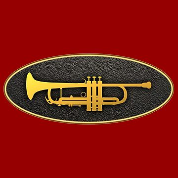 Golden Oval Trumpet by plidner