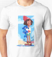 Popplio by the sea Unisex T-Shirt