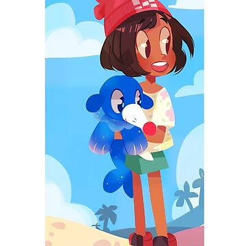 Popplio by the sea by aninhat-t