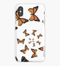 Monarch Butterflies Spiraling iPhone Case/Skin