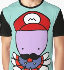 Super Mario Octopus Graphic T-Shirt