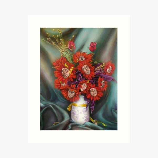 The Nicolas BouCage Art Print