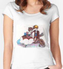 Confectionery Snow Women's Fitted Scoop T-Shirt