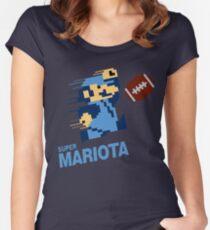 Super Mariota Titans Women's Fitted Scoop T-Shirt