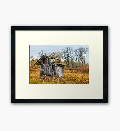 The Well of Wisdom Framed Print