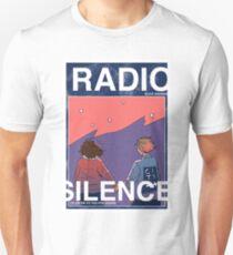 Radio Silence: Poster Slim Fit T-Shirt