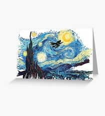 starry potter Greeting Card