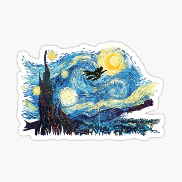 starry magic Sticker
