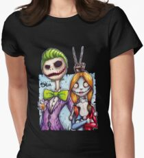 Nightmare In Gotham Womens Fitted T-Shirt