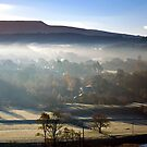 Caton shrouded in Mist by mikebov