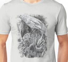 White Raven Unisex T-Shirt