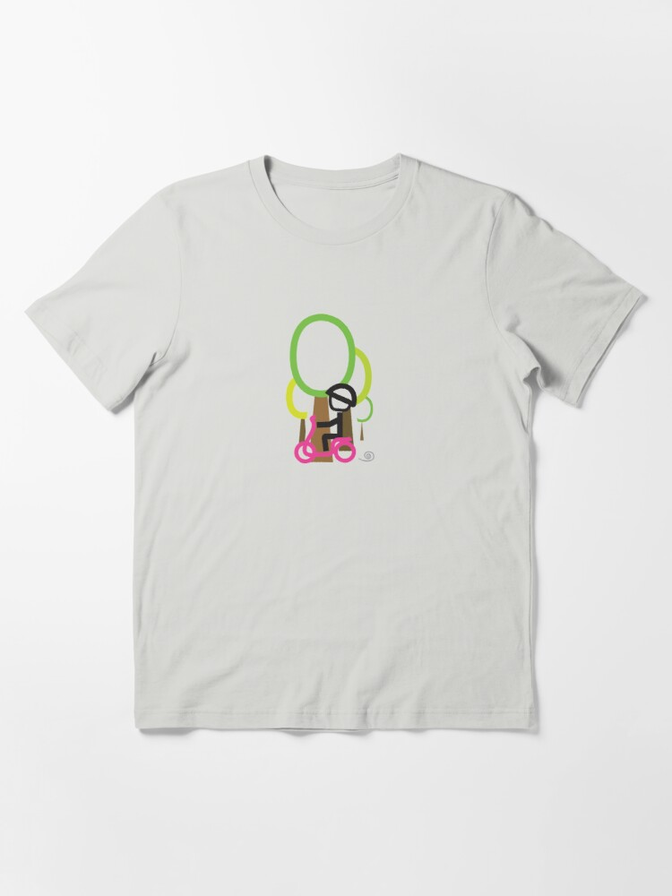 Alternate view of Scooter Boy series - scootin' through forrestl t-shirt  Essential T-Shirt