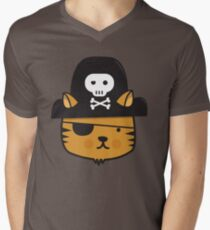 Pirate Cat - Jumpy Icon Series Men's V-Neck T-Shirt
