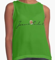 Pope  Saint John Paul II: signature and portrait Contrast Tank